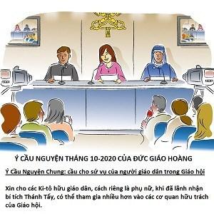 Cầu Nguyện với ĐTC tháng 10/2020